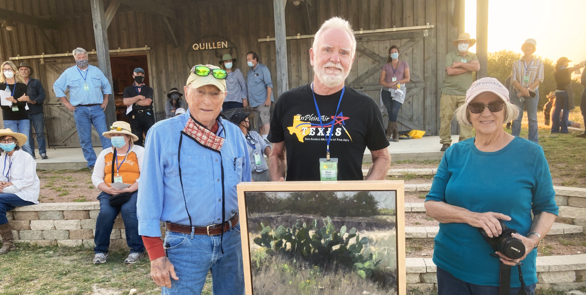 Neal Hughes Texas Artist Camp Award