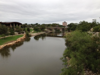 CONCHO RIVER BY VISITORS CENTER