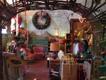 Inside store on Concho