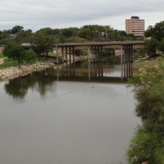 CONCHO RIVER BRIDGE