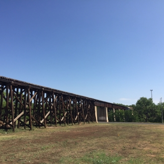 Rio Concho - Train bridge